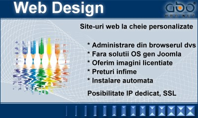 Web Design LIGHT Hosting hosting romania .ro .net